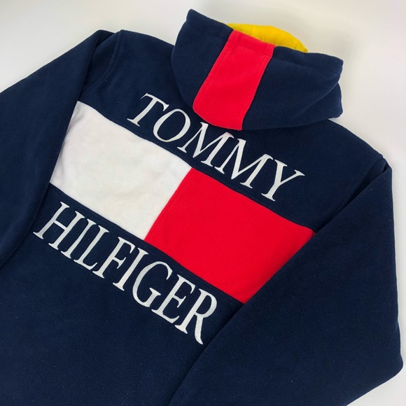 Tommy Hilfiger Vest Vintage Style Fleece NWT Jacket Various Sizes and Color